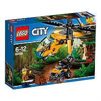 Конструктор LEGO Грузовой вертолет исследователей джунглей (60158)
