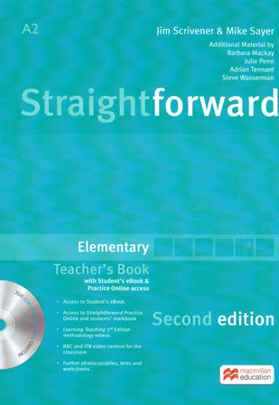 Straightforward Second Edition Elementary Teacher's Book with eBook and Practice Online access (Книга учителя)