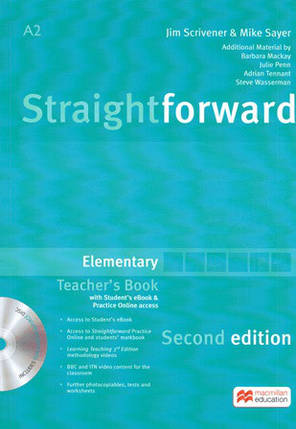 Straightforward Second Edition Elementary Teacher's Book with eBook and Practice Online access (Книга учителя), фото 2