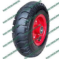 Колесо для тачки 4.00-6 пневматическое, под ось 20 мм, с толстой шиной