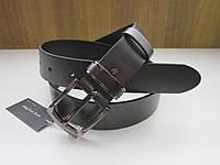 Кожаный ремень REMAR 40 мм серый