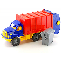 Магирус Мусоровозка № 0497 р. 24*58*18 см, детский грузовик, машинка, игрушка для мальчиков