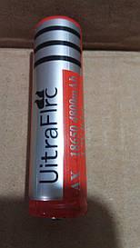 Литиевый аккумулятор UltraFire 18650 3.7v Li-ion 4800 mAh