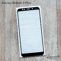 Защитное стекло 2,5D для Xiaomi Redmi 5 Plus (black silk)