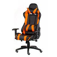 Кресло офисное Special4You ExtremeRace black/orange (Е4749)