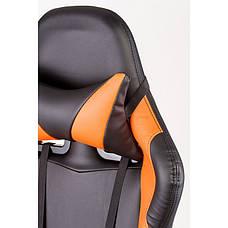 Кресло офисное Special4You ExtremeRace black/orange (Е4749), фото 2