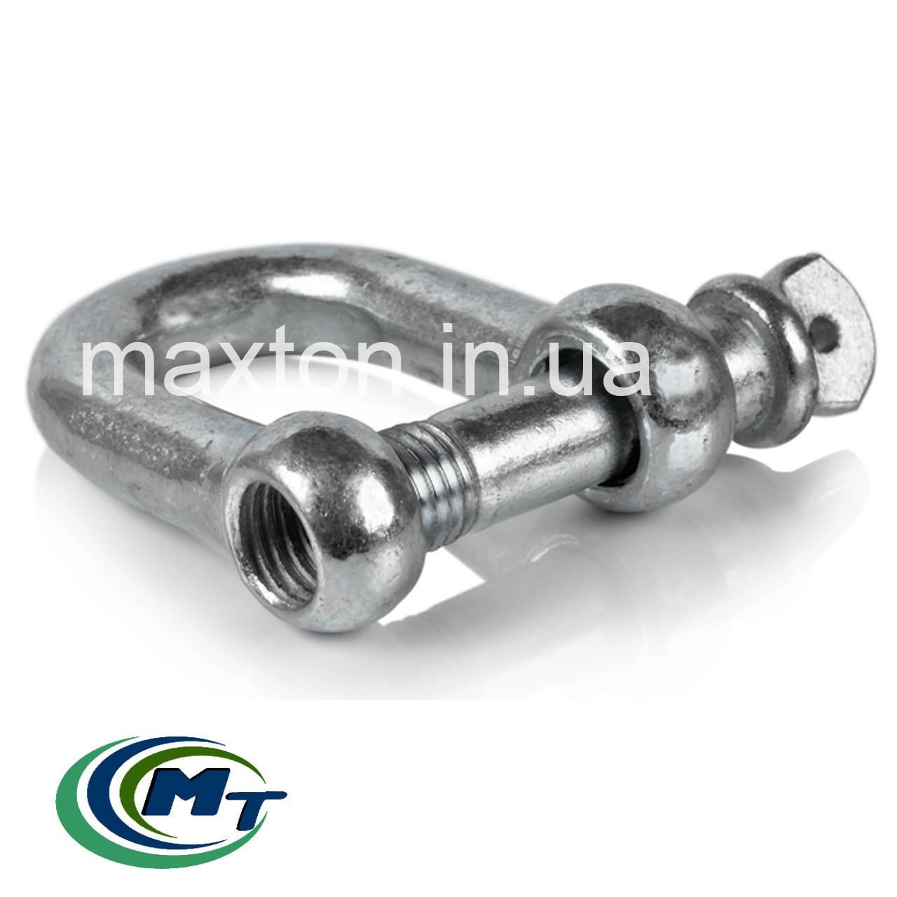 Скоба монтажная прямая (шекля) 8 мм