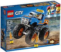 Конструктор LEGO City Грузовик-монстр 192 детали (60180)