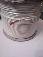 Провод монтажный ПВ3 2,5кв.мм. (CCA),длина 100м,цвет белый