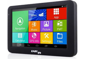 GPS навигатор EasyGo A505 (Android) для грузовиков с картой Европы