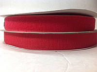 Ширина 2,5 см, цвет красный