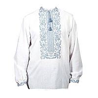 Вышиванка мужская Авторская вышиванка 58 Белый (188810)
