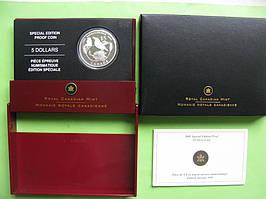 Канада 5 доларів 2005 р. Фауна - птах