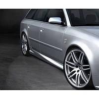 Накладки на пороги Audi A6(С5)