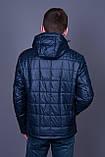 Чоловіча демісезонна стьобана куртка Black Wolf, синього кольору, фото 5