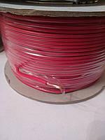 Провод монтажный ПВ3 1,0кв.мм. (CCA),длина 100м,цвет красный