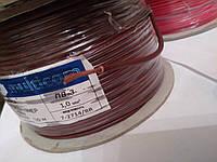 Провод монтажный ПВ3 1,0кв.мм. (CCA),длина 100м,цвет коричневый