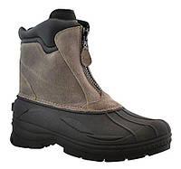 Ботинки зимние Totes Mens Tornado Suede Center Zip Snow Boots р.43