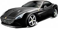 Модель автомобиля Bburago Ferrari California T черный (18-26002-1)