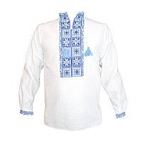 Вышиванка мужская Авторская вышиванка 46 Белый (5744)