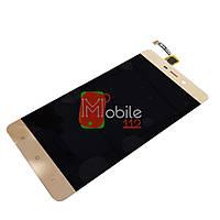 Модуль для Xiaomi Redmi 4 Prime, Redmi 4 Pro (Дисплей + тачскрин) золотистый оригинал PRC