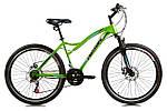 """Горный велосипед CROSSRIDE CR 2.0 26"""" Зеленый"""