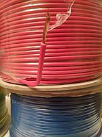 Провод монтажный ПВ3 1,5кв.мм. (CCA),длина 100м,цвет красный