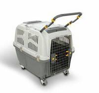 Переноска  Skudo 6 IATA Grey 92*63*70 h,до 40 кг