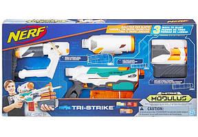 Бластер Hasbro Nerf Модулус Три-Страйк (B5577)