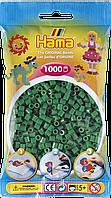 Термомозаика Hama Набор зеленых бусин 1000 шт midi (207-10), фото 1