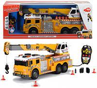 Машинка Dickie Toys с подъёмным краном на дистанционном управлении со светом и звуком 62 см (372 9003)