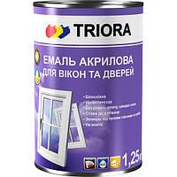 Эмаль TRIORA для окон и дверей 1 л