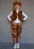 Карнавальный костюм коричневый Мишка №1