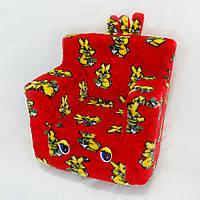 Детское кресло Kronos Toys Зайчики Красное (zol_218-3)