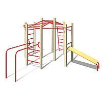 Детский гимнастический комплекс Акробат InterAtletika