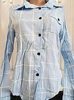 Рубашка женская (коттон) Турция от склада оптом 7 км