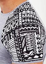 Молодежная мужская футболка с карманчиком, фото 2