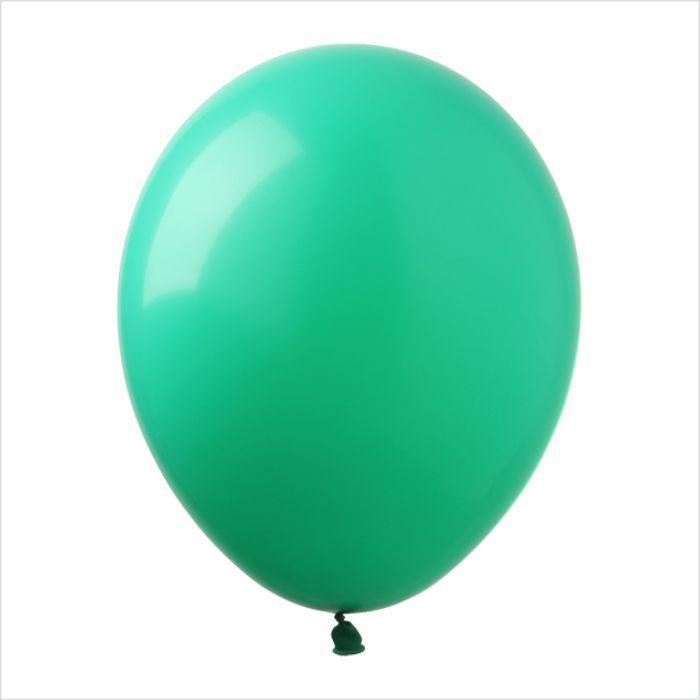 """Воздушные шары 12"""" пастель зелёный (green) 100 шт Арт Шоу"""