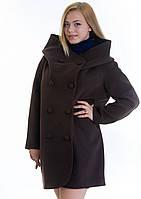 Пальто женское №14 (шоколад)