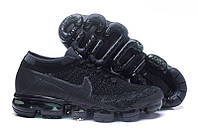 Кроссовки Nike Air VaporMax Flyknit ''Triple Black'' ( реплика А+++)