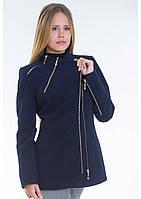 Пальто женское №5 (синий)