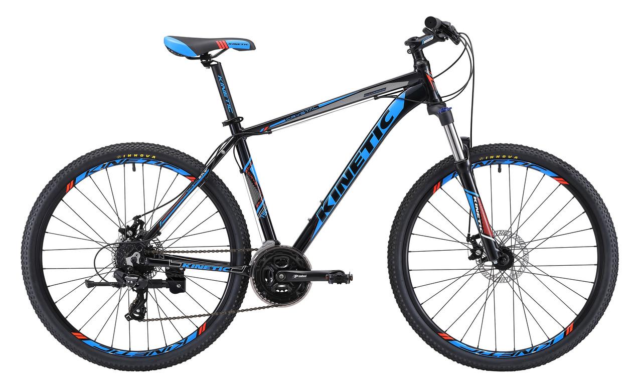"""Горный велосипед KINETIC CRYSTAL 29"""" 20""""  Черный/Голубой"""