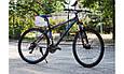 """Горный велосипед KINETIC CRYSTAL 29"""" 20""""  Черный/Голубой, фото 2"""