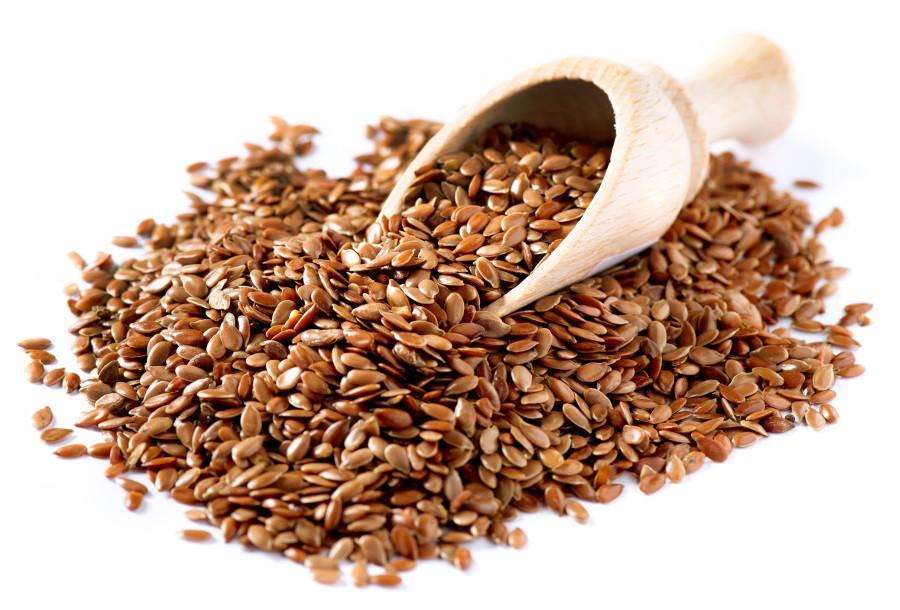 Лен коричневый семена, 100 грамм - источник фитогормонов