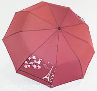 """Однотонный женский зонт полуавтомат от фирмы """"Mario"""""""