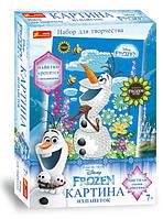 """Картинки из пайеток Frozen """"Олаф. Лето"""". Disney"""