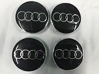 Audi TT Заглушки в титановые диски 55,5 мм внутренний диаметр