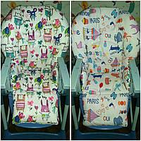 Двухсторонний чехол на стульчик для кормления Chicco Polly