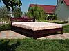 Кровать из мебельного щита Ривьера М, 1600 х 2000