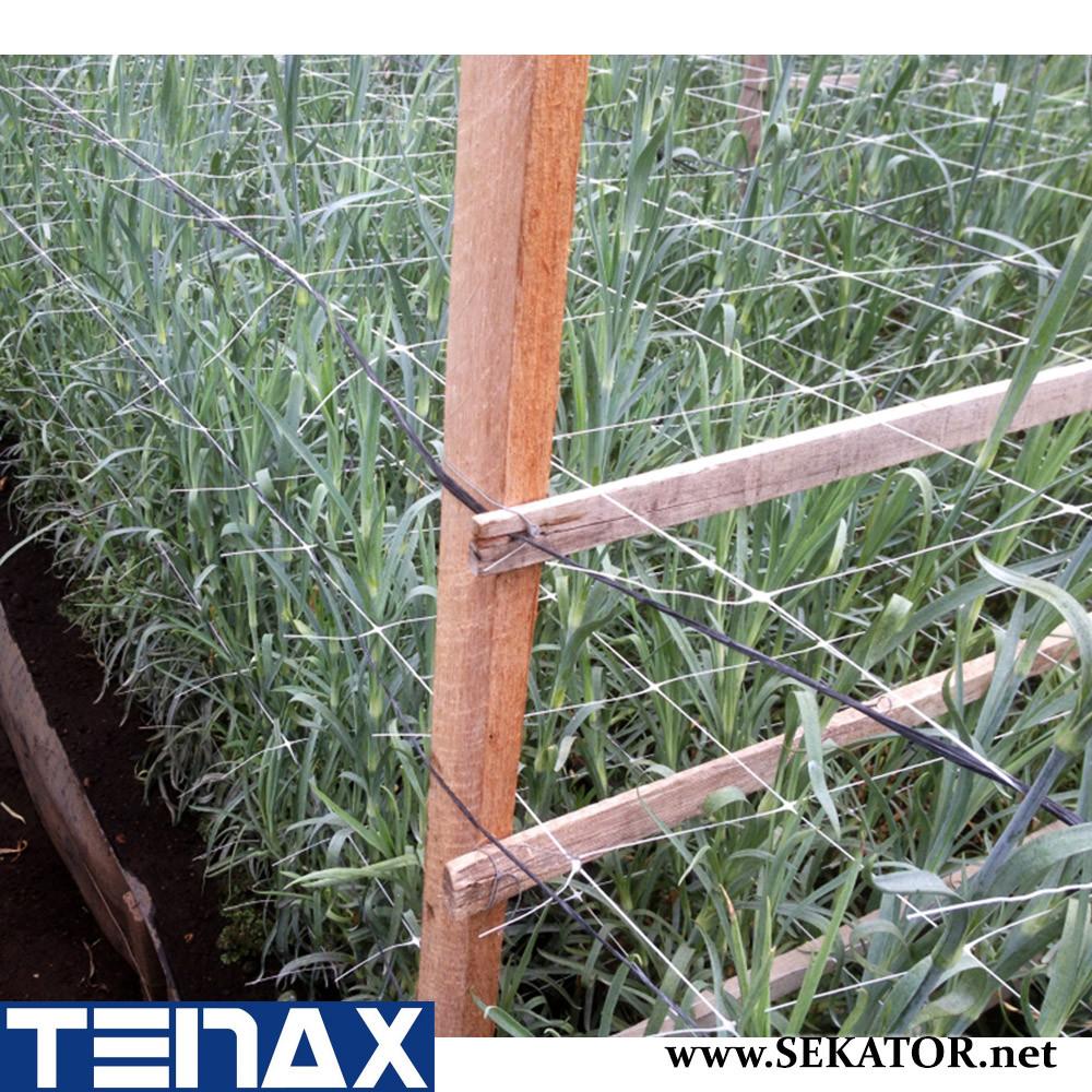 Шпалерна квіткова сітка Tenax HORTINET 10FGPO (Італія)